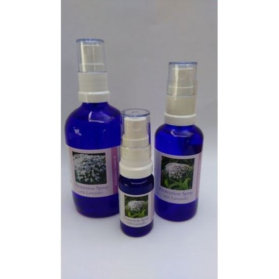 lavender protection spray bottles