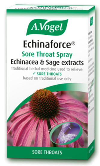 Echinacea sore throat spray